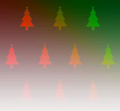 Christmas tree wallpaper for background Royalty Free Stock Image