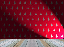 Christmas tree wallpaper for background Stock Photography