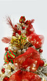 Christmas Tree on white Royalty Free Stock Image