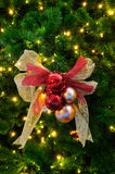 Christmas Tree With Decoration Stock Images