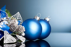 Christmas Tree With Festive Ball Royalty Free Stock Photos
