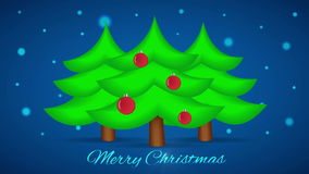 Free Christmas Tree With Lights. Motion Loop Background Royalty Free Stock Images - 63087529