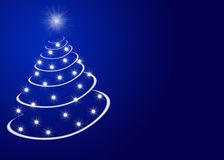 Free Christmas Tree With Stars Stock Photo - 7154270
