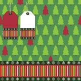 Christmas tree wrapping Stock Photo