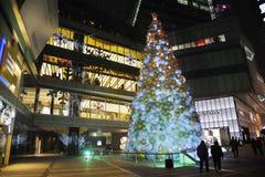 Christmas tree in Yanlord Landmark Royalty Free Stock Image