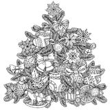 Christmas treeChristmas tree ornament Royalty Free Stock Photos