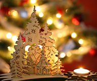 Christmas trees Royalty Free Stock Photography