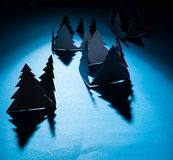 Christmas trees. Royalty Free Stock Images