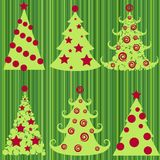 Christmas trees. Stock Photography
