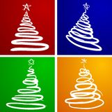Christmas trees. Stock Photo