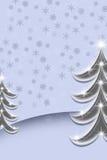 christmas trees Στοκ Εικόνα