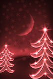 christmas trees Στοκ εικόνες με δικαίωμα ελεύθερης χρήσης
