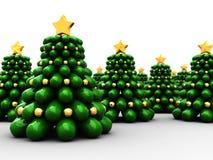 christmas trees Стоковое Изображение RF