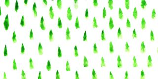 Christmas trees abstract stock illustration