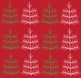 Christmas trees background Stock Image