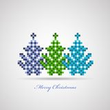 Christmas trees Royalty Free Stock Photo