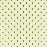 Christmas trees pattern Royalty Free Stock Photo