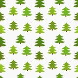 Christmas trees seamless Stock Photography