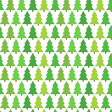 Christmas trees seamless pattern Stock Images