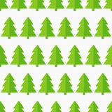 Christmas trees seamless Royalty Free Stock Photography