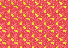 Christmas trees seamless vector. Christmas trees seamless pattern royalty free illustration