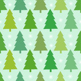 Christmas trees texture Royalty Free Stock Image