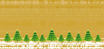 Christmas trees,vector  Stock Photo
