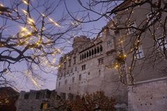 Christmas in Trento royalty free stock photography