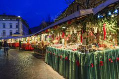 Christmas in Trento, Italy Royalty Free Stock Photos