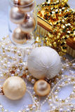 Christmas Trinkets Royalty Free Stock Images