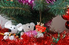 Christmas trinkets Royalty Free Stock Photo
