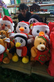 Christmas trinkets Stock Images