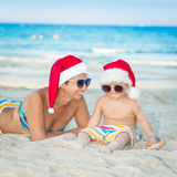 Christmas tropical Royalty Free Stock Image