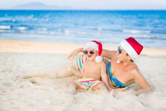 Christmas tropical Royalty Free Stock Images