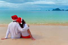 Christmas tropical vacation Royalty Free Stock Photography