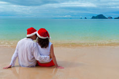 Christmas tropical vacation Stock Photography