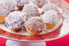 Christmas Truffles Royalty Free Stock Images