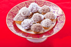 Christmas Truffles Royalty Free Stock Photography