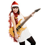 Christmas tunes royalty free stock photography