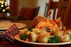 Free Christmas Turkey Stock Image - 1264791