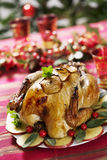 Christmas turkey Royalty Free Stock Images