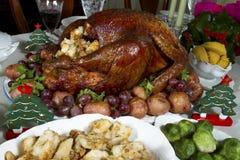Christmas Turkey stock image