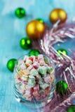 Christmas turkish delight Stock Photo
