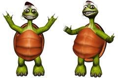 Christmas turtle Stock Photography