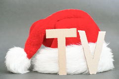 Christmas TV Royalty Free Stock Images