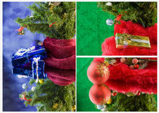 Christmas under tree series Royalty Free Stock Photos