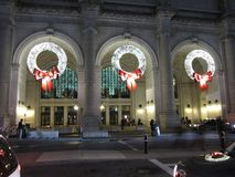 Christmas at Union Station Stock Photo