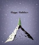 Christmas up top Stock Image