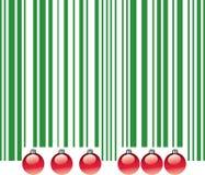 Christmas UPC Code Royalty Free Stock Image