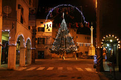 Christmas in urbania Royalty Free Stock Images